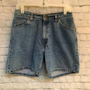 Levi's Vintage 967 Relaxed Fit  Mom Jean Shorts
